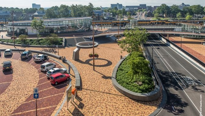 #Helmond - De Spoorzone bij station