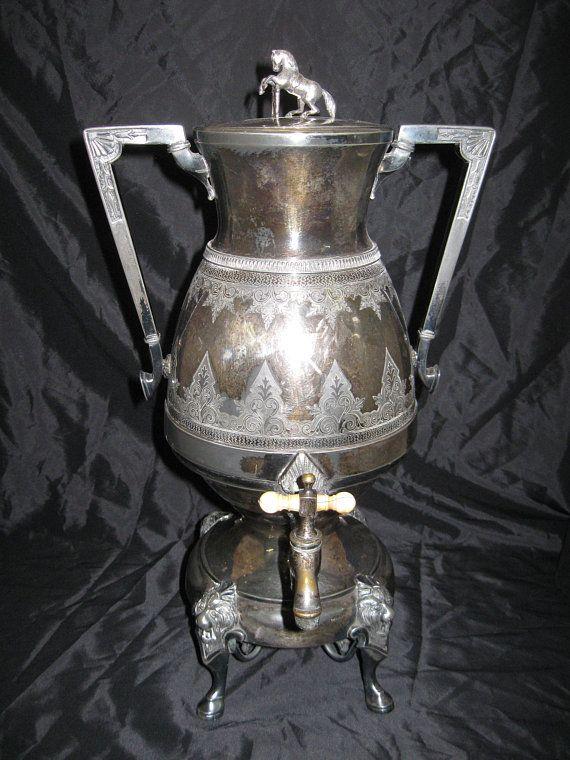 Silver Plate Sugar Bowl Old English Reproduction Marlboro Morton Parker 1945-70