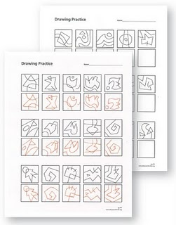 """""""..one skill needed for realistic drawing is the ability to look at shapes and draw them for what they are.."""" {drawing worksheets}"""