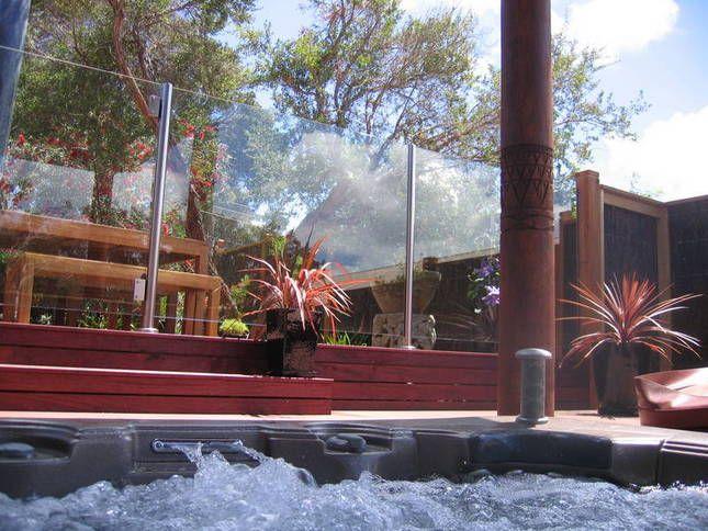 outdoor spa :)
