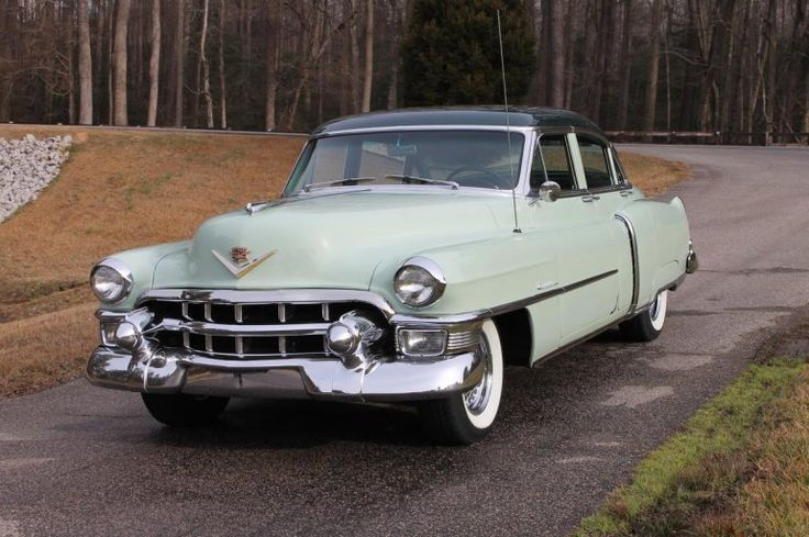 1000 images about cadillacs on pinterest cadillac for 1953 cadillac 4 door sedan
