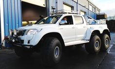 Toyota Hilux 6x6 car truck.