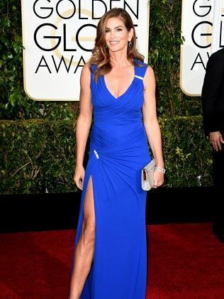 Model Cindy Crawford.