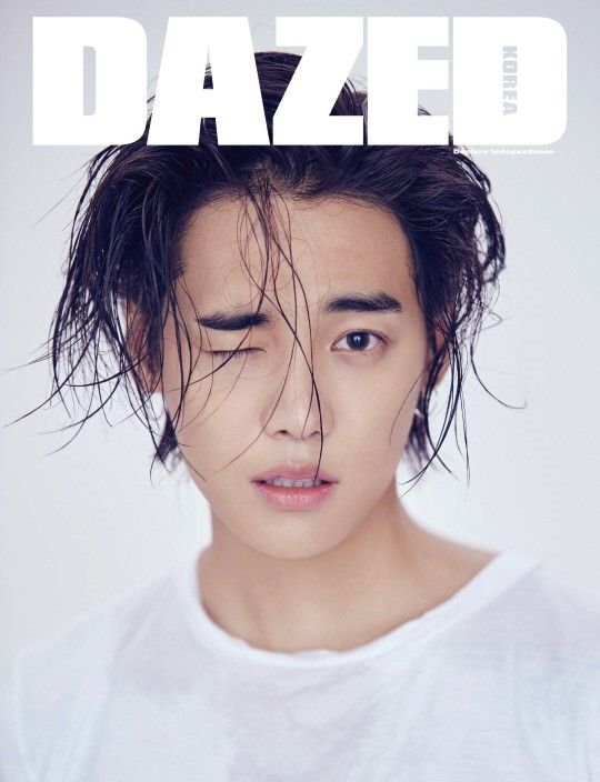 Jaewon aka ONE - Dazed Korea