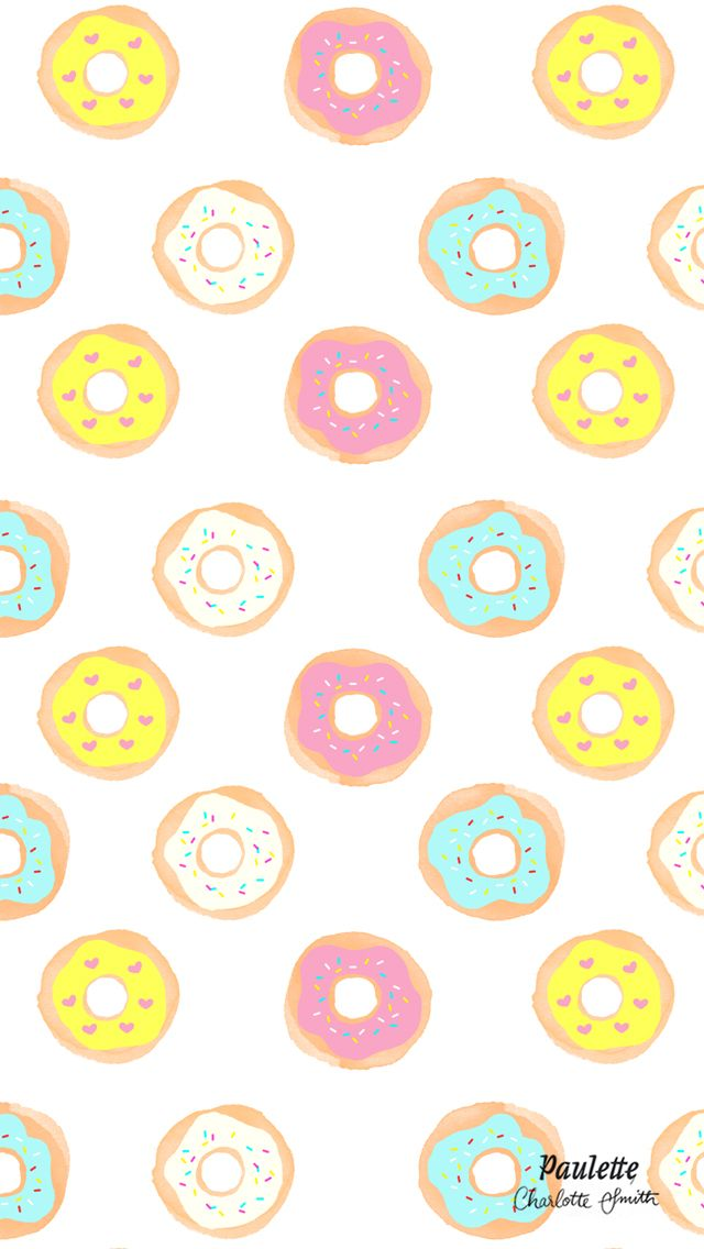 Free Iphone Wallpaper Donut