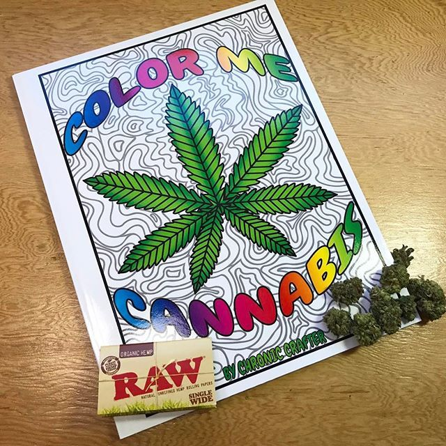 cannabutter coloring pages - photo#21