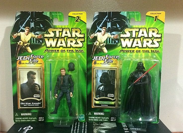 Star Wars Action Figure 2 pack (POTJ) - Darth Vader & Obi-Wan Kenobi #Hasbro
