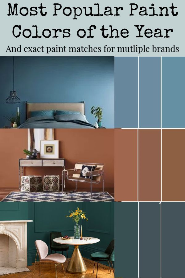 2019 Paint Color Of The Year Popular Paint Colors For Living Rooms Accent Walls In Living Room Paint Colors For Living Room Teal Accent Walls