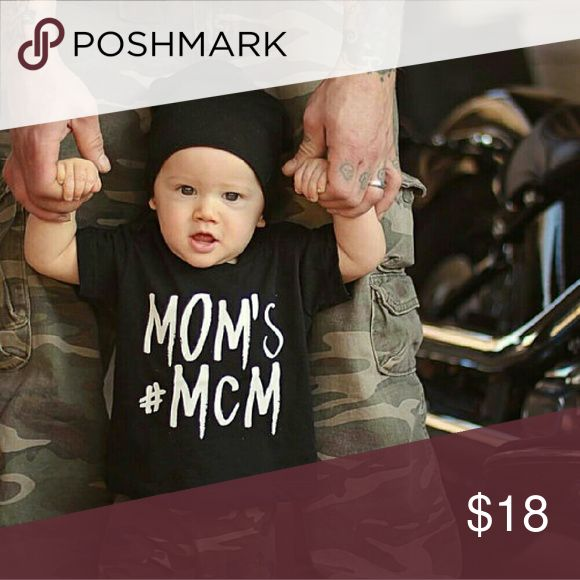 << Mom's #MCM Toddler Tee >> Your MCM isn't complete without this adorable tee.  Basic tee with graphic print  5T size is a 5/6T Boutique  Shirts & Tops Tees - Short Sleeve