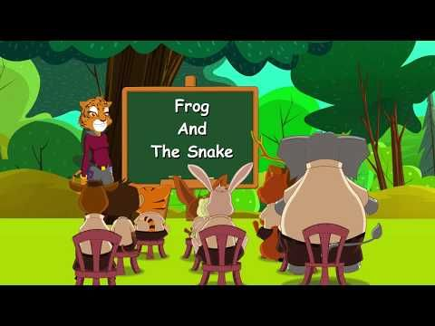 Frog and the Snake | Panchatantra Moral Stories for Kids in English