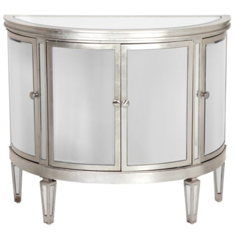 Demilune Mirrored Chest From Z Gallerie For The Home