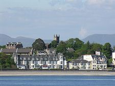 Dunoon, Scotland.  Lived here for 3 yrs and I'm ready to go back.
