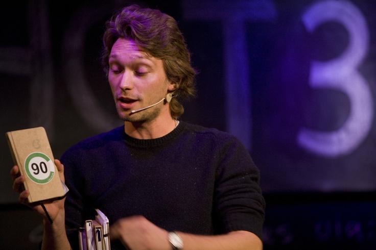 Matthijs Lievaart met 'Club van 90' #Ishot3 @matthijslievaar