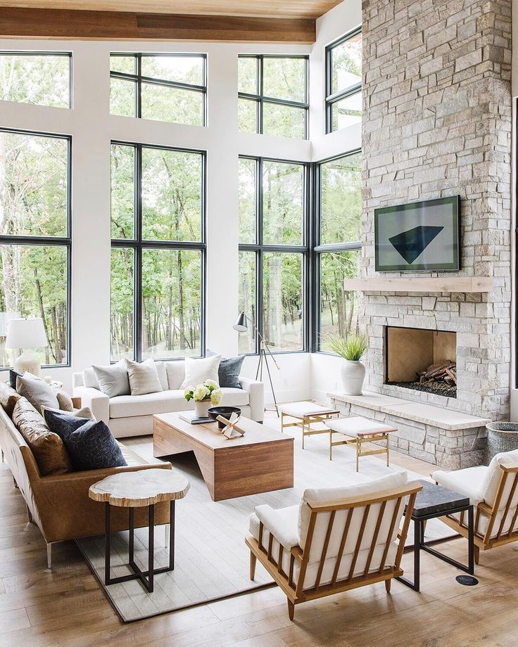 Modern Meets Traditional Living Room Decor Transitional Living