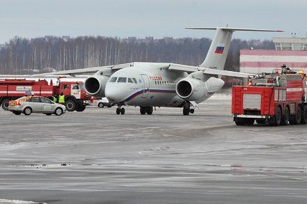Russian Plane With 71 on Board Crashes Near Moscow