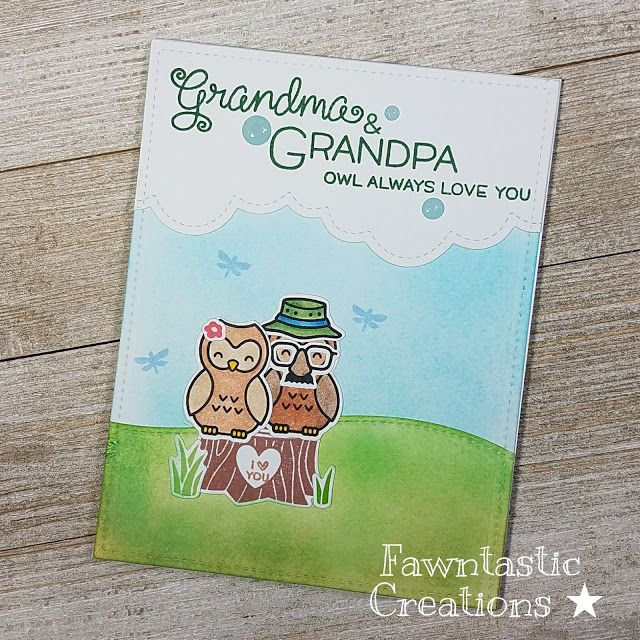 ☆ Fawntastic Creations ☆: Owl Always Love You - Grandparents Day  Lawn Fawn