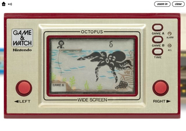 Octopus Game & Watch by Nintendo, 1981