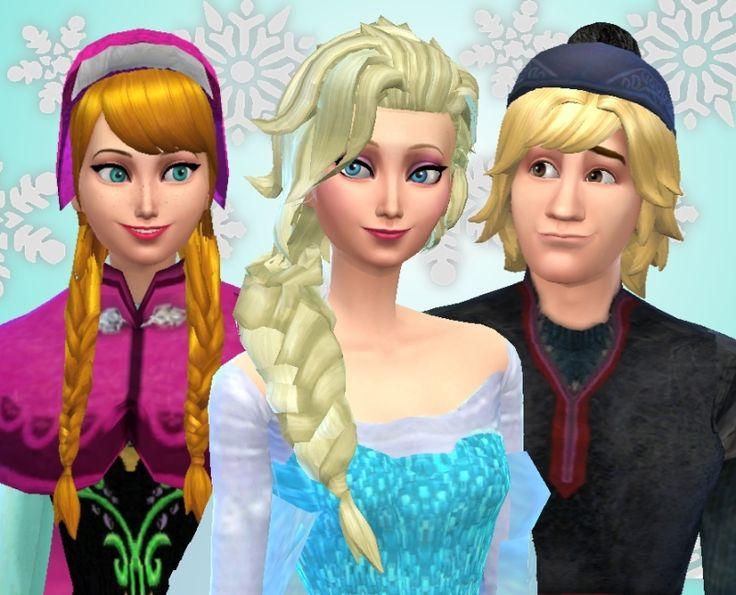 Mod The Sims - Disney's Frozen - Elsa, Anna & Kristoff: Disney Fairytale Collection Pt. 7