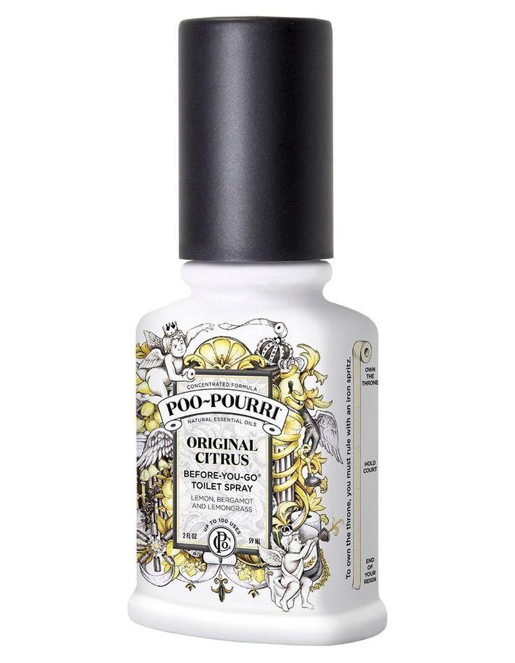 Poo Pourri Before You Go Toilet Spray Bathroom Citrus Smell Stink  Neutralizer