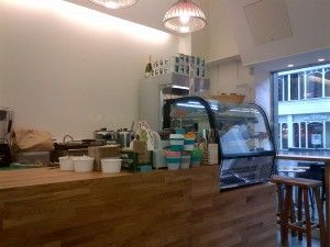 Castello Coffee is new and rather lovely with excellent homemade soup