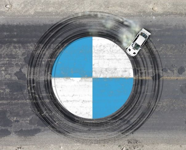 BMW logo inception.