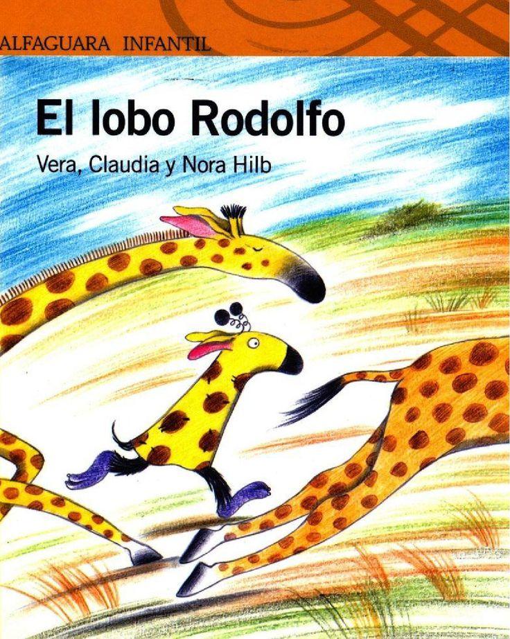 El lobo Rodolfo  Libros Infantiles