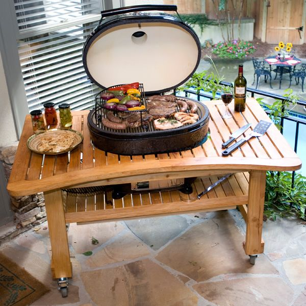 Kamado Grills Outdoor Bbq Grills Woodlanddirect Com