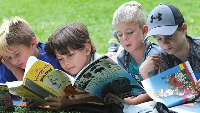 Second Annual Read In: A Tale of 1001 book @ Centennial Park in Uxbridge