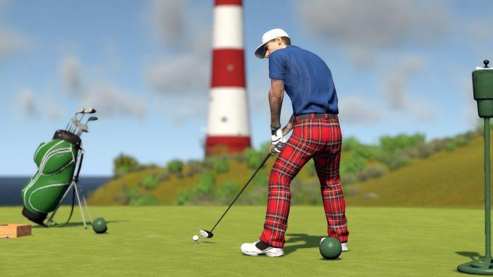 Ранний доступ спортивного симулятора гольфа The Golf Club VR