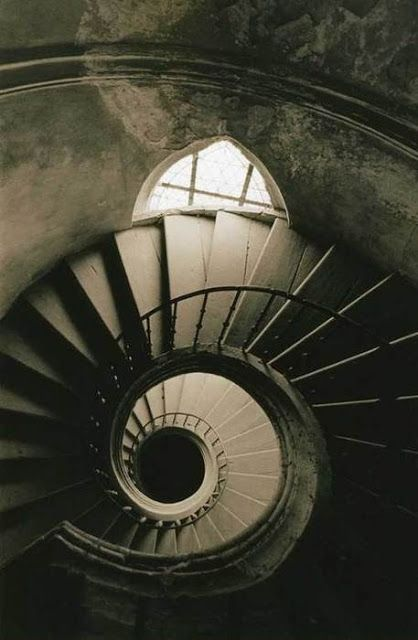 Stunning Designs of Staircases (10 Pics) - Part 3, Michael Gesinger Spiral staircase and window.