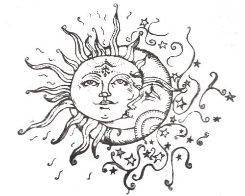 """Group of: """"Live by the sun, love by the moon."""" 