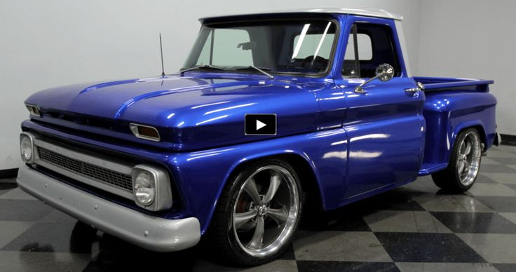 WICKED 1965 CHEVY C10 PICK UP | CUSTOM TRUCKS