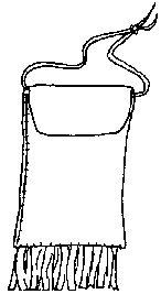Pre-beadwork Native American Strike a Light leather bag basic