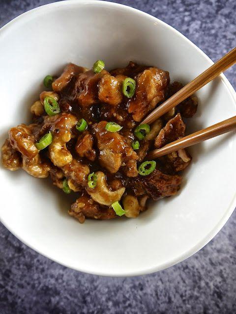 the preppy paleo: Paleo Crock Pot Cashew Chicken #crockpot #paleo