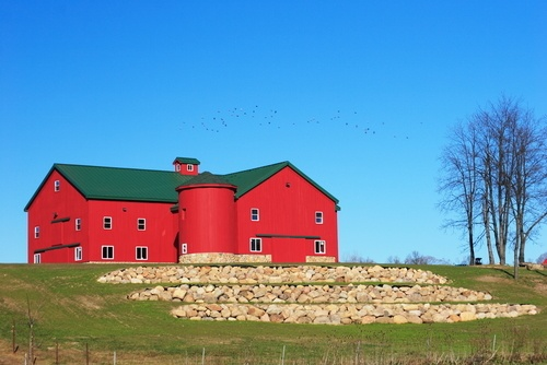 Amish built barn in Ohio. | Farms and Barns and Country, Oh My ...