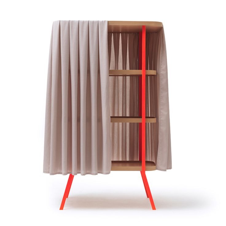 Curtain Cabinet by Martin Hirth | Living