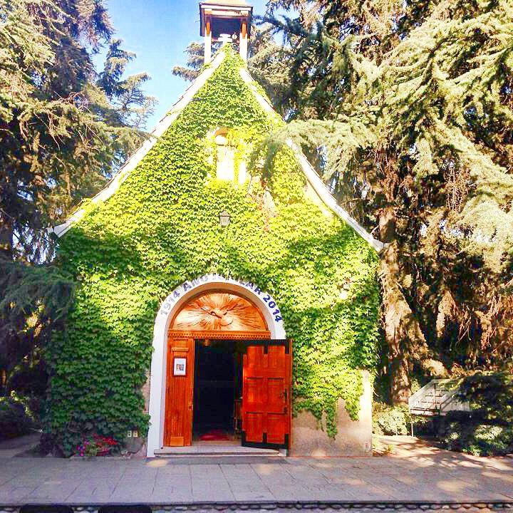 Santuario Bellavista de las tres veces admirable Virgen de Schoenstatt. Santiago, Chile