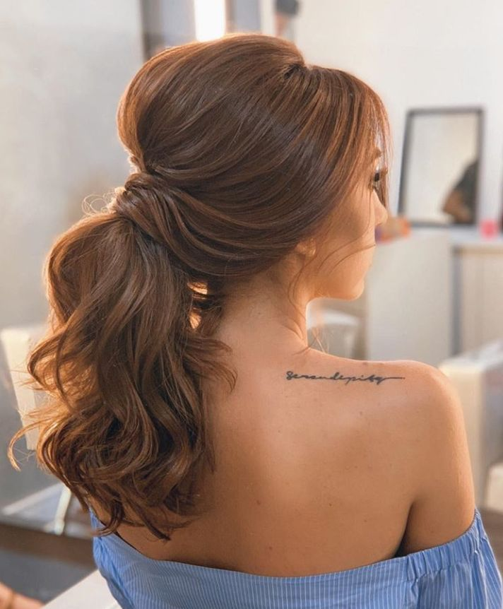 54 Cool Easy Ponytail Hairstyle Design For Brunette - - #brunette #design #hairstyle #ponytail - #HairstyleCuteLongHair