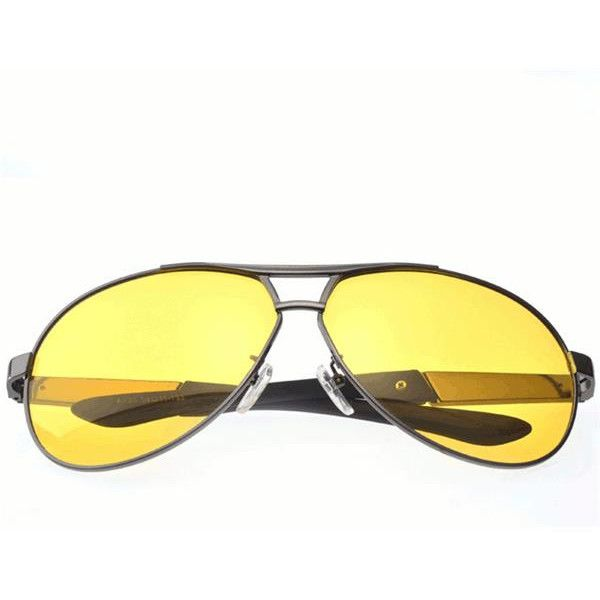 s Unisex Casual Night Vision Polarized Sunglasses UV400 Protection... (£9.78) ❤ liked on Polyvore featuring accessories, eyewear, sunglasses, anti glare glasses, mirrored lens sunglasses, anti glare sunglasses, mirror sunglasses and lens glasses