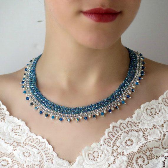 Algo azul para la novia joyería de la boda azul azul de la