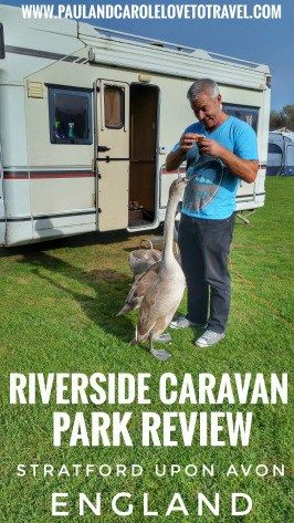 We spent a weekend staying at the #Riverside #Caravan #Park in #Stratford #upon #Avon, #Warwickshire, #England. Hope this information is useful if you are planning a stay. #camping #motothome #united #kingdom