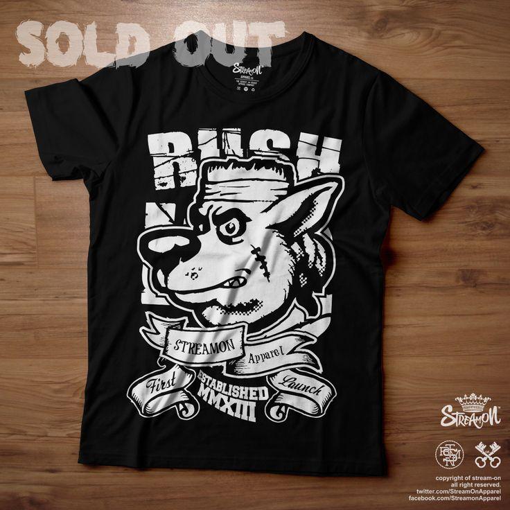 #ON Graphic Tee Labrador Rush SOLD https://facebook.com/StreamonApparel https://twitter.com/StreamOnApparel
