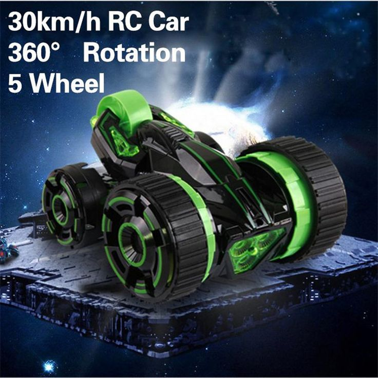 360 Degrees RC Car Spin 6CH Speed 5 Wheels Radio Electric RC Stunt Car Off Road. Click visit to buy #RemoteControl #Car