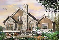 Plan de maison no. W3923 de DessinsDrummond.com