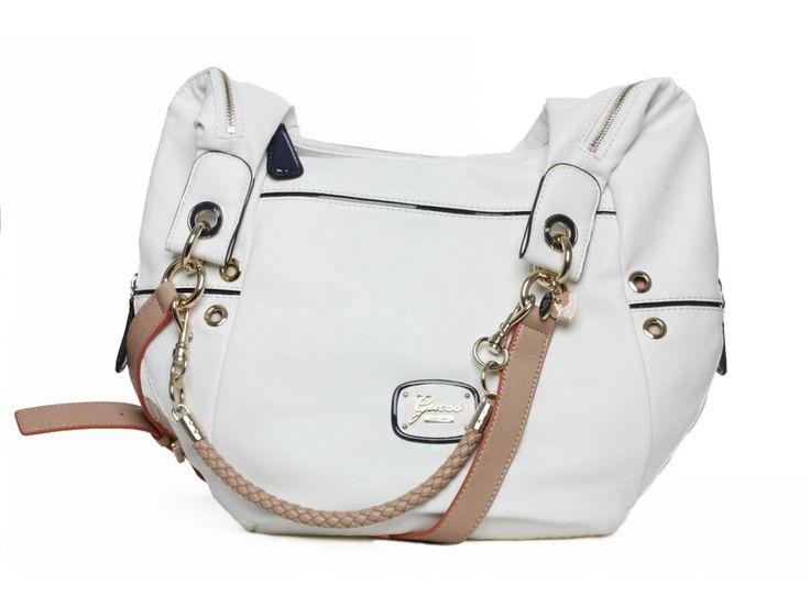 Dámská bílá kabelka GUESS - 100062039 | obujsi.cz - dámská, pánská, dětská obuv a boty online, kabelky, módní doplňky