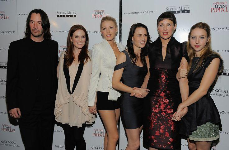 Julianne Moore, Blake Lively, Keanu Reeves, Rebecca Miller, Robin Wright Penn, Zoe Kazan