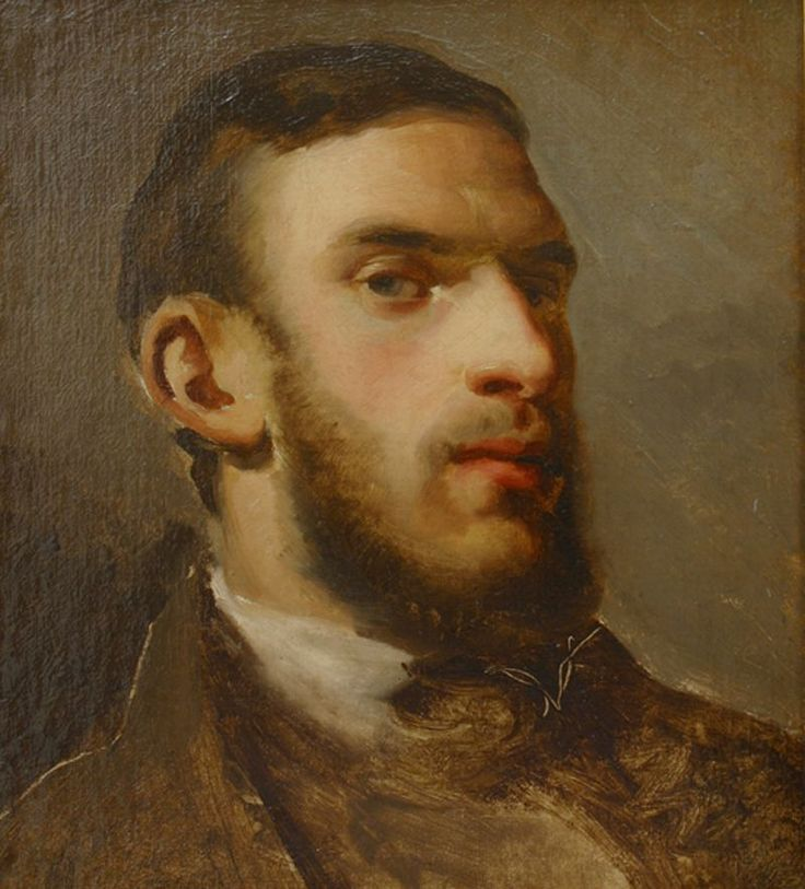"proleutimpressionists: "" Self-Portrait Pissarro was between 22 and 24 years old when he painted this self-portrait. At that age, he was living and working in Caracas, Venezuela, where he and the Danish painter Fritz Melbye, 4 years older, had set up..."