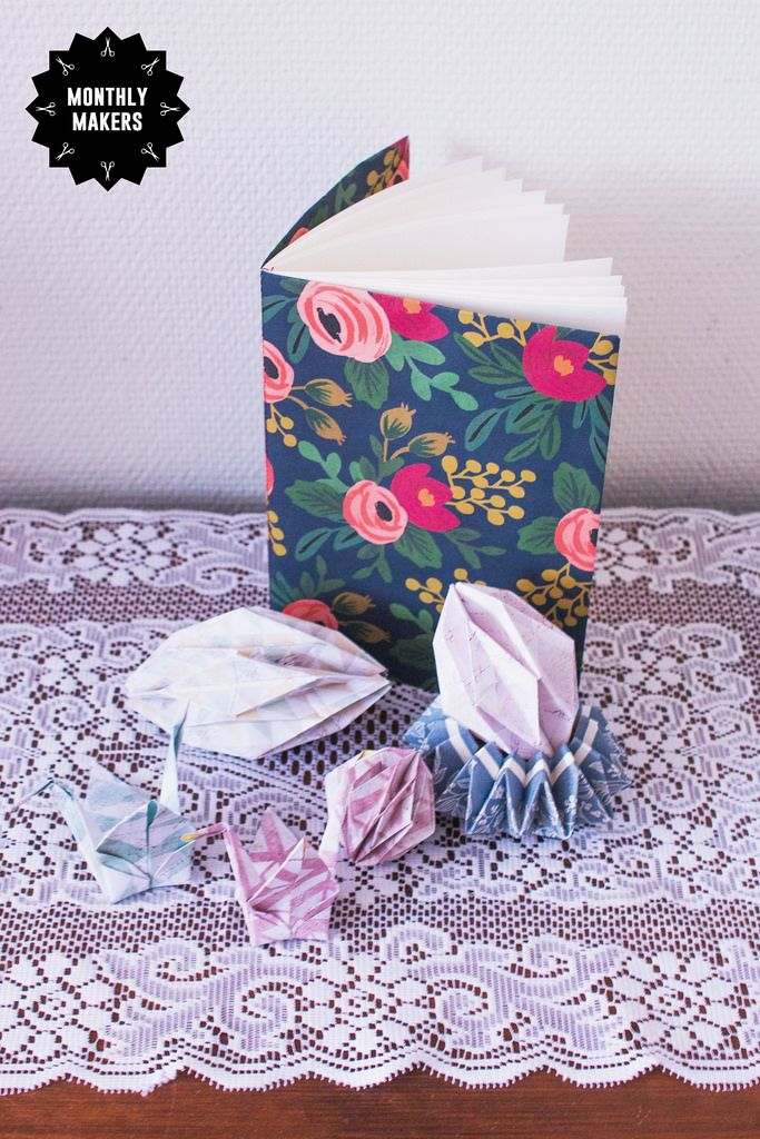Monthly Makers January - Paper by elsalisalarson.se