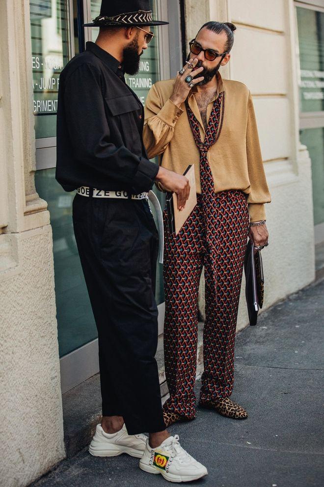 Les Meilleurs Looks Street Style De La Fashion Week Homme Printemps