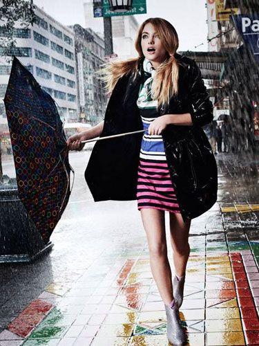 Yağmurlu Günler İçin Makyaj Önerileri  #makyaj #yağmur #yağmurlu hava